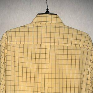 Brooks Brothers Shirts - Brooks Brothers Yellow Plaid Button Down Sz M